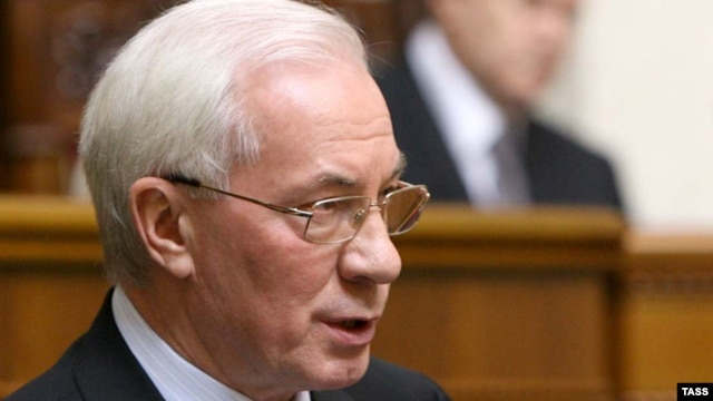 Azarov (pictured) headed President Yanukovych's election campaign.