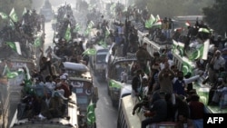 'Caravan of Democracy March' Heads From Lahore to Islamabad
