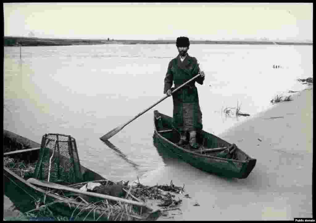 Рыбак на Прыпяці