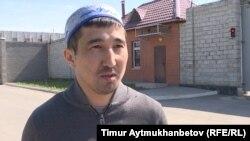 Жанат Бекмаганбетов, участник несанкционированного митинга 1 мая. Нур-Султан, 13 мая 2019 года.