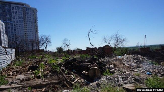 Ростов-на-Дону, место пожара