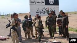 Ирактың солтүстігінде ИМ-мен соғысып жүрген күрдтің пешмерга жасақтары.