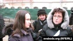 Вольга Някляева наведала Генэральную пракуратуру і КДБ