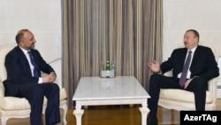 İlham Əliyev və Mohammad Xanif Atmarı