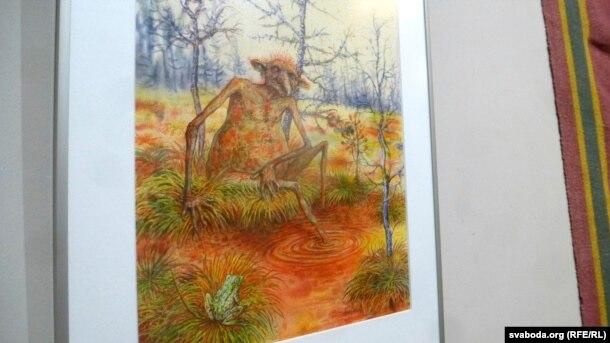 Аржавень. Малюнак з выставы ў магілёўскім музэі