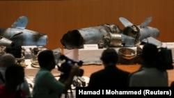 Ostaci oružja korištenog za napad na naftna postrojenja Saudijske Arabije