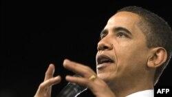 """Барак Обама: """"Мой бюджет отражает суровую реальность того, что мы унаследовали - дефицит в триллион долларов, финансовый кризис и дорого обходящуюся нам рецессию"""""""