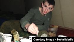 Погибший под Пальмирой российский офицер Александр Прохоренко. Фото: Одноклассники
