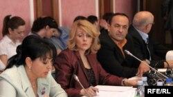 Sa sastanka Odbora za politički sistem, pravosuđe i upravu, Podgorica, 28. jun 2010., fotografije uz tekst: Savo Prelević
