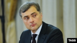 Russian presidential aide Vladislav Surkov (file photo)