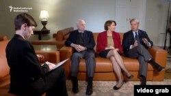 Сенаторы Маккейн, Клобушар и Грэм отвечают на вопросы Радио Свобода