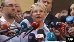Останнє спілкування Тимошенко з пресою перед арештом, Київ, 5 серпня 2011 року