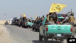 Իրաքի զինված ուժերի ստորաբաժանումները շարժվում են Թիքրիթի ուղղությամբ՝ սկսելու քաղաքի գրոհը, 28-ը փետրվարի, 2015թ․