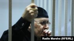 Оюб Титиев в день оглашения приговора