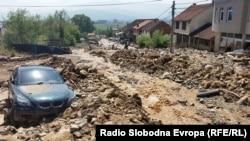 Поплави и свлечишта го погоди селото Шипковица во Тетово во август.