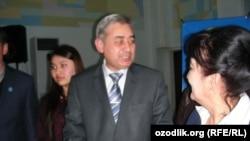 Элдик-демократиялык партиядан талапкер Хотамжон Кетмонов.
