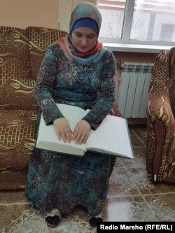 Нохчийчоь --Сацагучийн библиотекехь, Мадина ю Къуран доьшуш, Соьлж-ГIала, 16Чил2015