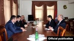 Фотография – пресс-служба правительства Нагорного Карабаха