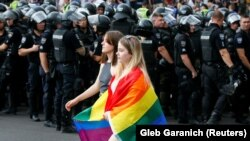 Ukraine -- The Equality March, organized by the LGBT community, Kyiv, 23Jun2019