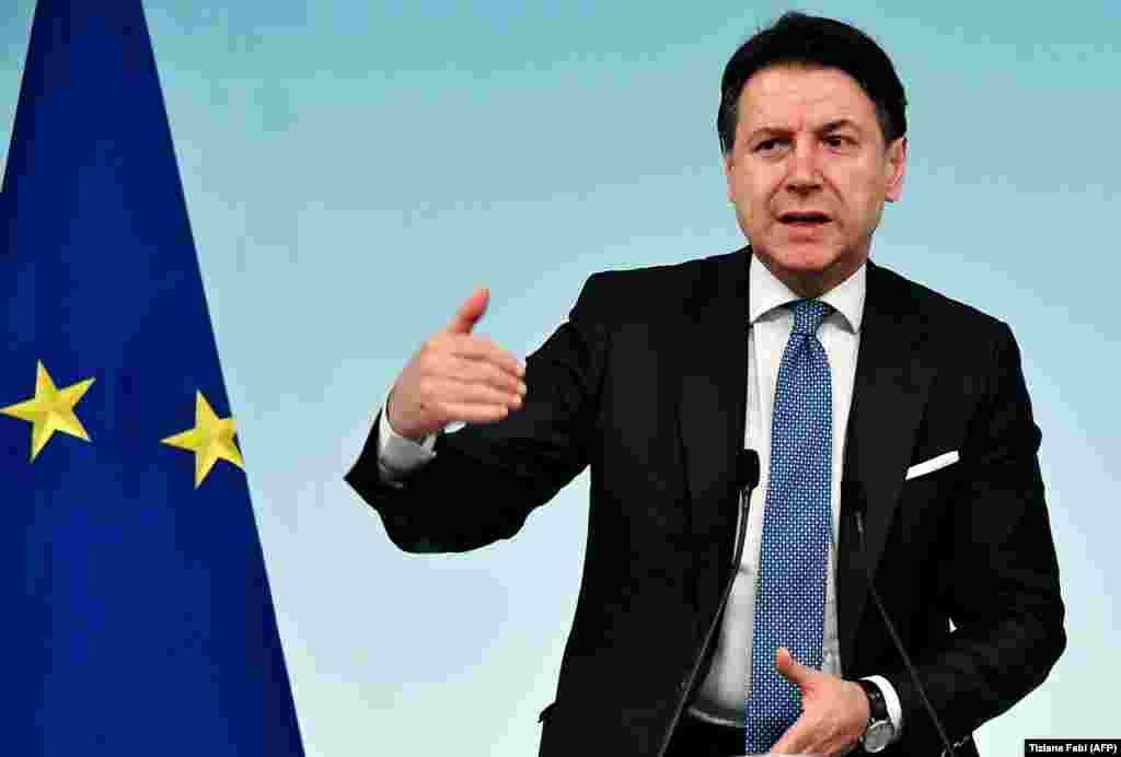 «Я сижу дома» – так премьер-министр Италии Джузеппе Конте охарактеризовал закон, принятый им в понедельник 9 марта. Политик фактически поместил всю страну на карантин