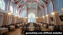 Исторический зал санатория «Гурзуфский»
