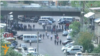 Արխիվ -- Ոստիկանությունը արգելափակում է ՊՊԾ գնդի տարածք տանող ճանապարհը, Երևան, 17-ը հունիսի, 2016թ․