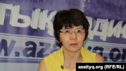 Меруерт Махмутова, экономист, директор Центра анализа общественных проблем. Алматы, 21 августа 2015 года.