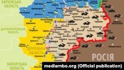 Українські військові повідомили про 12 порушень режиму припинення вогню з боку підтримуваних Росією бойовиків