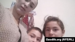 Шоҳида Абраматова болалари билан