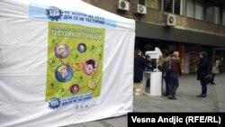 Beograd: Svjetski dan borbe protiv AIDS-a