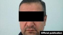Один из подозреваемых. Фото пресс-центра ГКНБ.