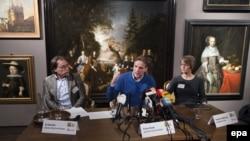 Одна из картин, украденных из музея Westfries в нидерландском городе Хорн.