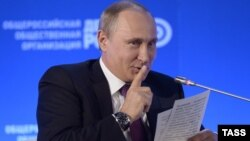 Ресей президенті Владимир Путин. Мәскеу, 26 мамыр 2015 жыл.