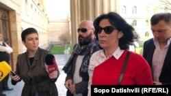 Анна Багратиони-Грузинская отказалась делать комментарий для прессы
