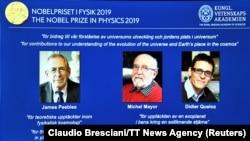 سه فیزیکدان که برنده جایزه نوبل شدند