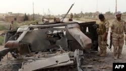 Posledice jednog od napada u Iraku