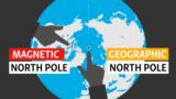 ჩრდილოეთი მაგნიტური პოლუსი ადგილს იცვლის