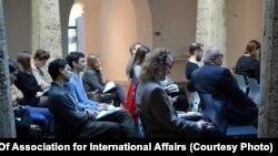 На конференции в Праге