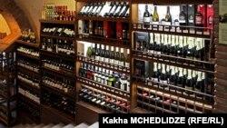 ქართული ღვინის სტენდი