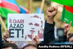 Оппозиционный митинг в Баку 31 марта