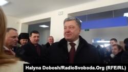 Петро Порошенко в Коломиї, 10 лютого 2017 року