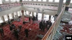 У мечеті після вибуху, Кабул, 21 листопада 2016 року