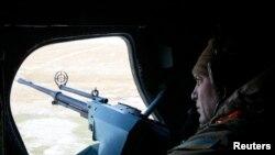 Украин армиясынын жоокери. 4-март, 2015-жыл.