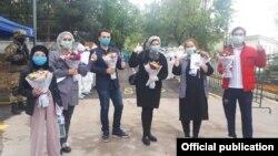 Вылечившиеся от коронавируса узбекистанцы.