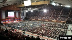 Armenia - The Prosperous Armenia Party holds a congress in Yerevan, 17Mar2012.