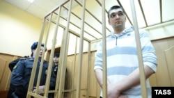Степан Зимин на рассмотрении собственного дела о беспорядках на Болотной площади
