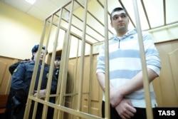 Степан Зимин в Басманном суде Москвы