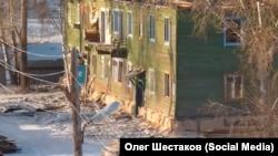 Расселенный дом в Братске