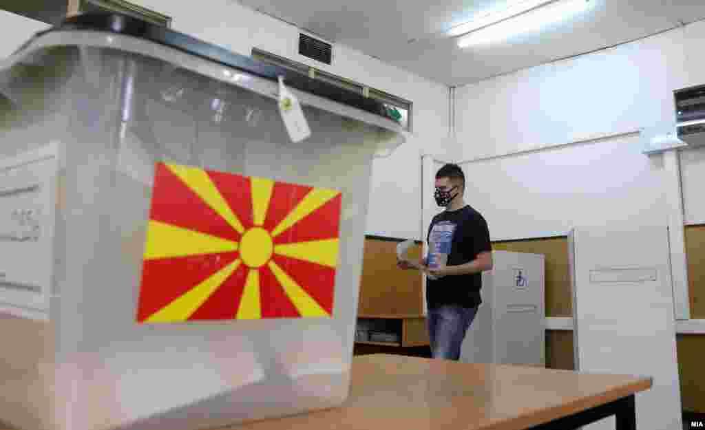 Предвремени парламентарни избори 2020. Кутија за гласови