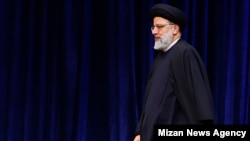 Ebrahim Raeesi, Chief Justice of Iran and a likely candidate to succeed Ali Khamenei. April 28, 2020